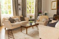 Sala da tè o salone inglese Immagine Stock Libera da Diritti