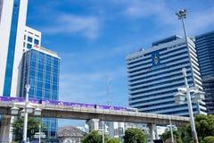 Sala Daeng Junction, point de repère à Bangkok, Thaïlande photo libre de droits