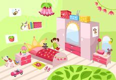 Sala das meninas Foto de Stock