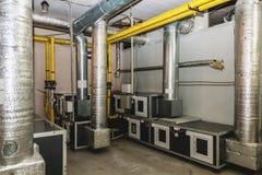 Sala de acondicionamento da água Fotos de Stock Royalty Free