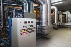 Sala de acondicionamento da água Imagem de Stock Royalty Free