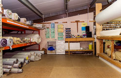 Sala de armazenamento Imagem de Stock