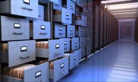 Sala de armazenamento Fotos de Stock Royalty Free