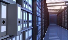 Sala de armazenamento Fotografia de Stock Royalty Free