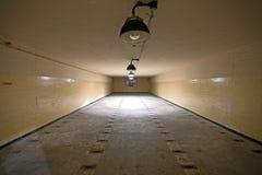 Sala de armazenamento das ogivas nucleares no depósito soviético da arma nuclear Imagens de Stock Royalty Free