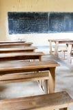 Sala de aula africana Fotografia de Stock
