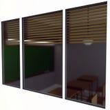 sala de aula 3d da parte externa Fotografia de Stock Royalty Free