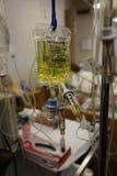 Sala de aula da escola de cuidados, medicamentação intravenosa imagens de stock royalty free