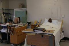 Sala de aula da escola de cuidados, medicamentação intravenosa fotografia de stock royalty free