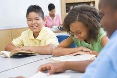 Sala de aula da escola primária Imagens de Stock Royalty Free