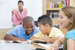 Sala de aula da escola primária Fotografia de Stock Royalty Free