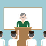 A sala de aula de aprendizagem Foto de Stock Royalty Free