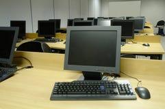 Sala de aula do computador Imagem de Stock