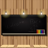 Sala de aula do quadro-negro Imagem de Stock Royalty Free