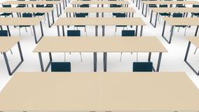 Sala de aula do treinamento ilustração stock