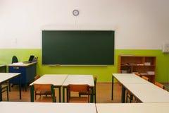 Sala de aula vazia fotos de stock