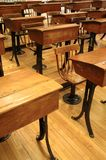 Sala de aula velha 1 Imagem de Stock