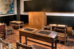 Sala de aula velha Fotografia de Stock Royalty Free