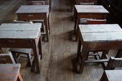 Sala de aula velha Fotos de Stock