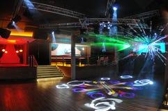 Sala de baile Fotografía de archivo