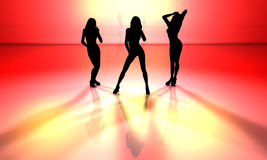 Sala de baile Fotos de archivo libres de regalías