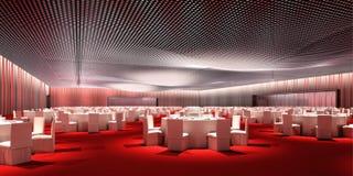 Sala de banquetes Fotografía de archivo libre de regalías