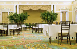 Sala de banquetes Imagen de archivo libre de regalías