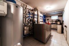 Sala de caldeira Fotos de Stock
