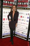 Sala de Caryn en la premier africana del festival de película de la cacerola de ?Layla?. Teatro de la plaza de Culver, ciudad de C Fotos de archivo