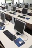 Sala de clase 5 del ordenador Imagen de archivo libre de regalías