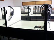 Sala de clase auditiva Imágenes de archivo libres de regalías