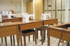 Sala de clase de costura 1 Foto de archivo libre de regalías