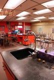 Sala de clase de la ciencia Foto de archivo libre de regalías