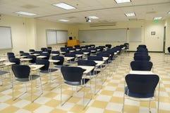 Sala de clase de la ciencia de la universidad Fotografía de archivo