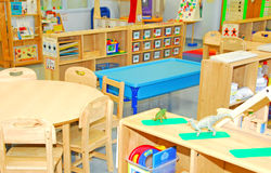 Sala de clase de la educación Foto de archivo libre de regalías
