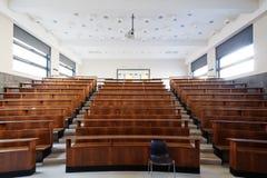 Sala de clase de la universidad fotografía de archivo libre de regalías