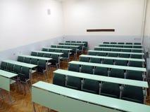 Sala de clase de la universidad Imagenes de archivo
