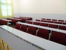 Sala de clase de la universidad Fotos de archivo