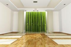 Sala de clase de la yoga Imagen de archivo libre de regalías