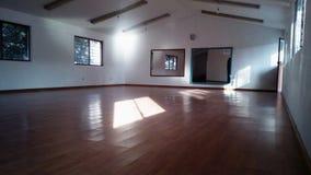 Sala de clase de la danza foto de archivo
