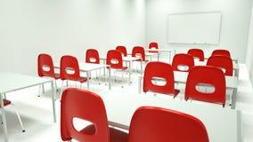 Sala de clase moderna Fotos de archivo