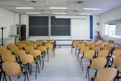 Sala de clase vacía Imagen de archivo libre de regalías