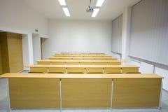 Sala de clase vacía Foto de archivo libre de regalías