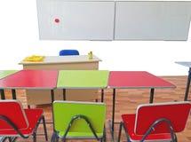 Sala de clase vacía de la escuela Imagenes de archivo