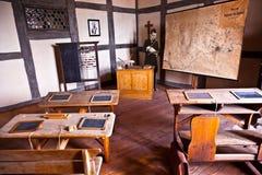 Sala de clase vieja Imagenes de archivo