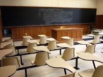 Sala de clase vieja de la universidad Fotografía de archivo