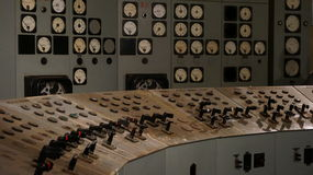 Sala de comando Foto de Stock