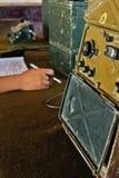 Sala de comando de rádio militar (2) Foto de Stock Royalty Free
