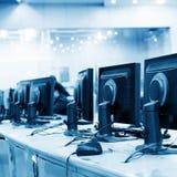 Sala de comando moderna da planta Fotos de Stock