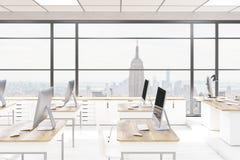 Sala de computador do escritório Imagens de Stock